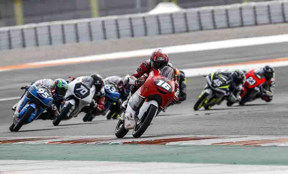 Pebalap Indonesia Mario Sukses Finish Lima Besar FIM CEV Moto 3 Valencia